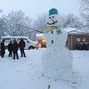 "A ""Goliath"" snowman.<br /> <br /> Photographer's Name: Clara Tremaine<br /> Photographer's City and State: Anderson, Ind."