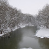The White River off Madison Avenue bridge. Snow is beautiful, but time to go away.<br /> <br /> Photographer's Name: Ken Ragle<br /> Photographer's City and State: Anderson, Ind.