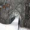 A beautiful snow-covered walk at Shadyside at the beginning of the storm.<br /> <br /> Photographer's Name: Rita Drews<br /> Photographer's City and State: Anderson, Ind.