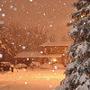 The streetlights make a really neat glow to the snow!<br /> <br /> Photographer's Name: Colleen Sanders Brown<br /> Photographer's City and State: Anderson, Ind.