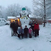Goliath the snowman.<br /> <br /> Photographer's Name: Clara Tremaine<br /> Photographer's City and State: Anderson, Ind.