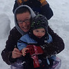 My daughter, Michelle, and grandson, Landon, playing in the snow.<br /> <br /> Photographer's Name: Paula Hines-Spradlin<br /> Photographer's City and State: Anderson, Ind.