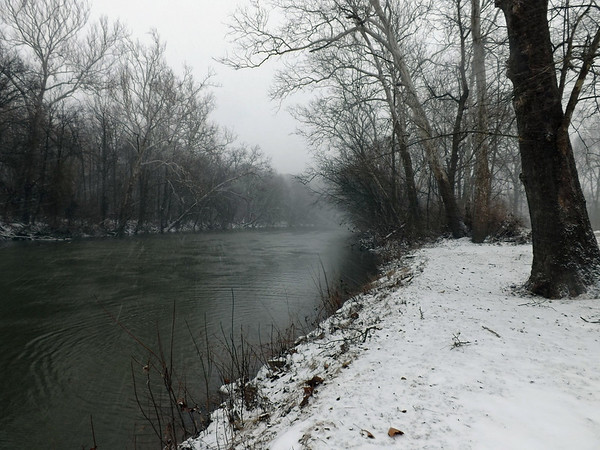 January at the White River in Mounds State Park.<br /> <br /> Photographer's Name: J.R. Rosencrans<br /> Photographer's City and State: Alexandria, Ind.