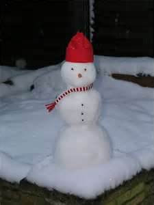 A small Snowman Nicole Winkler made in Anderson..<br /> <br /> Photographer's Name: Beth Walker<br /> Photographer's City and State: Anderson, IN