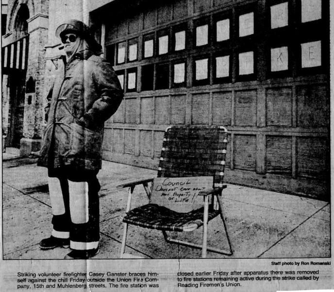 12.13.1986 City Volunteer Strike
