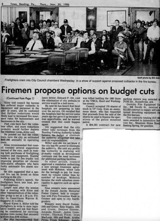 11.20.1986 Firemen Propose Options On Budget Cuts-1