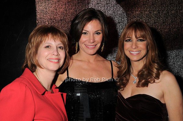 Lisa Wexler, LuAnn de Lesseps, Jill Zarin<br /> photo by Rob Rich © 2010 robwayne1@aol.com 516-676-3939