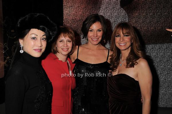 Lucia Hwong Gordon,Lisa Wexler, LuAnn de Lesseps, Jill Zarin<br /> photo by Rob Rich © 2010 robwayne1@aol.com 516-676-3939
