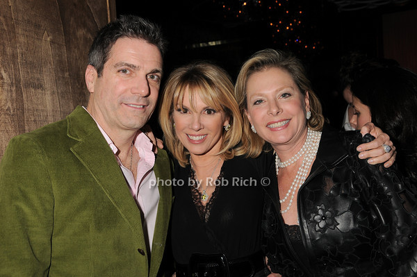 Mario Singer, Ramona Singer, Pamela Morgan<br /> photo by Rob Rich © 2010 robwayne1@aol.com 516-676-3939
