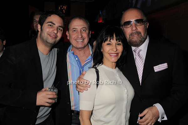 Jonathan Zarin, Steve Steve Boxer, Christine DeSimeone,Bobby Zarin<br /> photo by Rob Rich © 2010 robwayne1@aol.com 516-676-3939