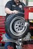 Rear tire install