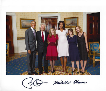 Barack Steve Rebecca Michelle Yael Danielle with signatures