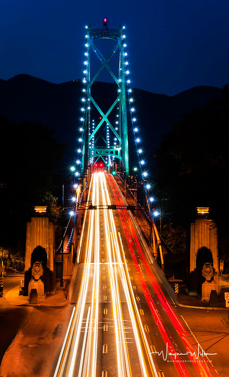 Traffic over the Lions Gate