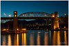 Burrard Bridge In The Evening