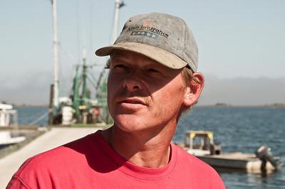 Oyster fisherman, Panacea, FL