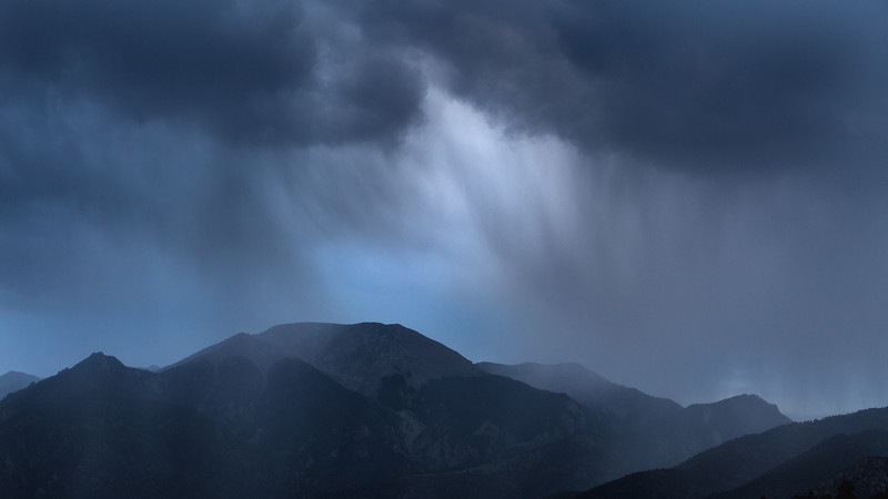 Summer Showers, Sangre De Cristo Mountains