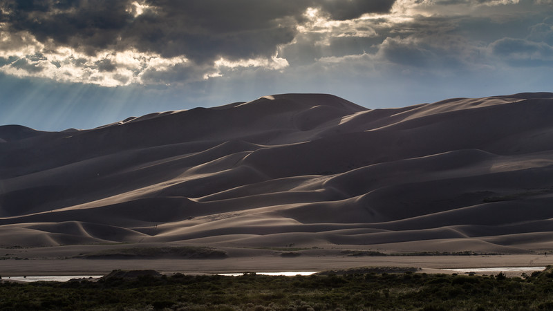 Summer Storm, Great Sand Dunes National Park