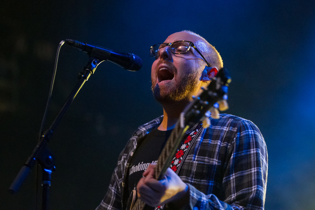 Tom May of The Menzingers