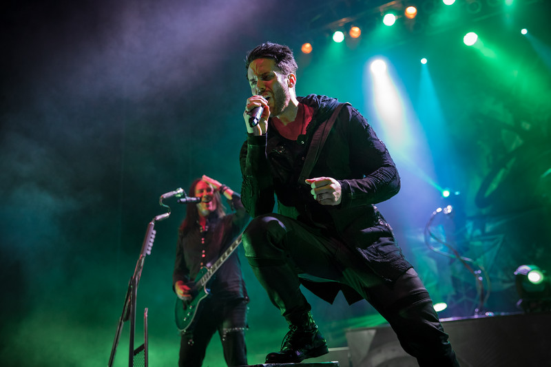 Thomas Youngblood and Tommy Karevik of Kamelot