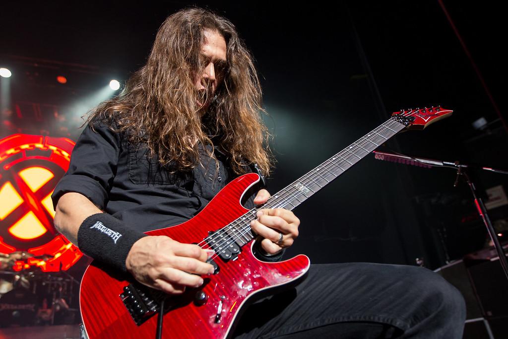 Kiko Loureiro of Megadeth