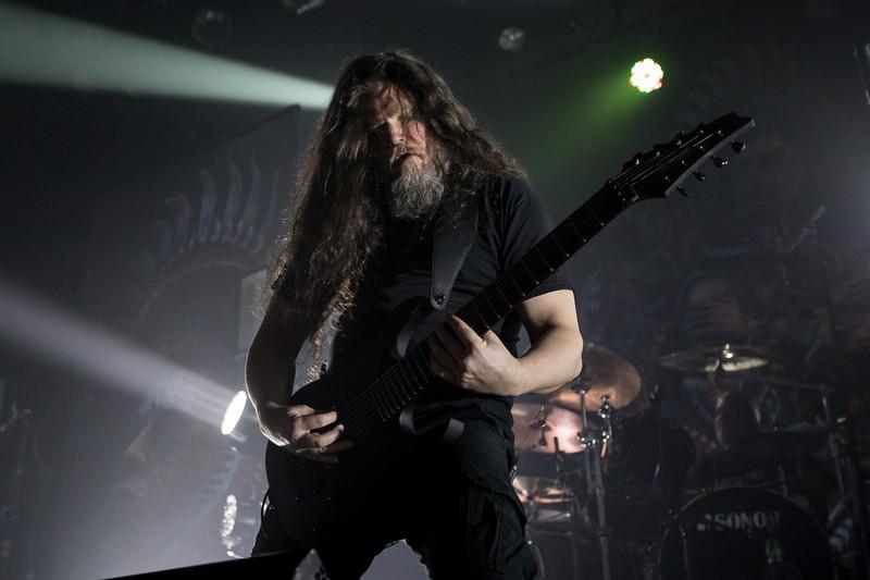 Mårten Hagström of Meshuggah