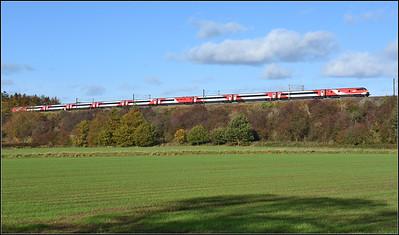 2018 10 22 Dvt on the 10.30 Kings Cross-Edinburgh LNER service is Durham bound.