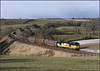 2018 02 27 60087 on the late running 6J37 Carlisle-Chirk Kronospan service at Armathwaite.