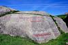 Helleristninger ved Lista<br /> <br /> Rock engravings from Lista,Norway
