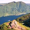 Utsikt fra Hananipa mot Bruviknipa
