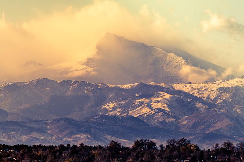 Dramatic Longs Peak