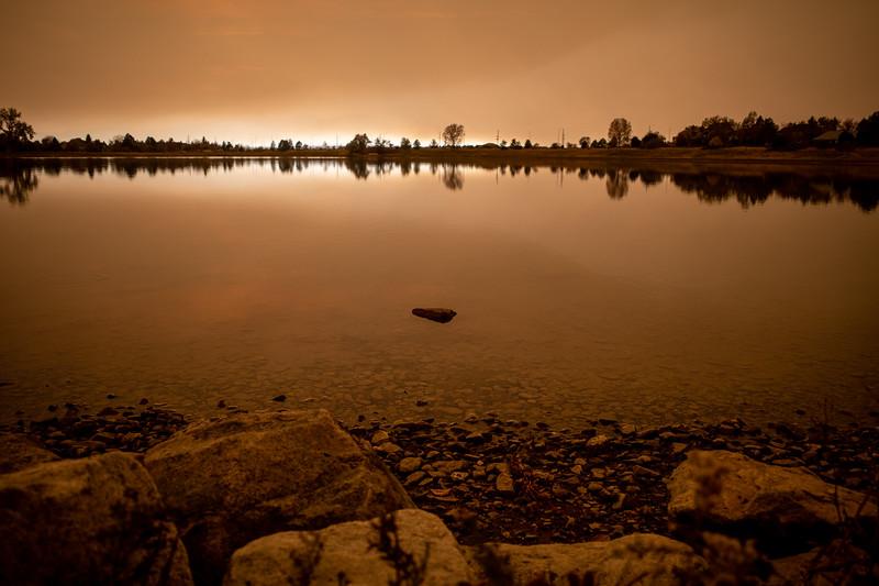 Wildfires darkening the skies