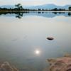 Rock in Harper Lake
