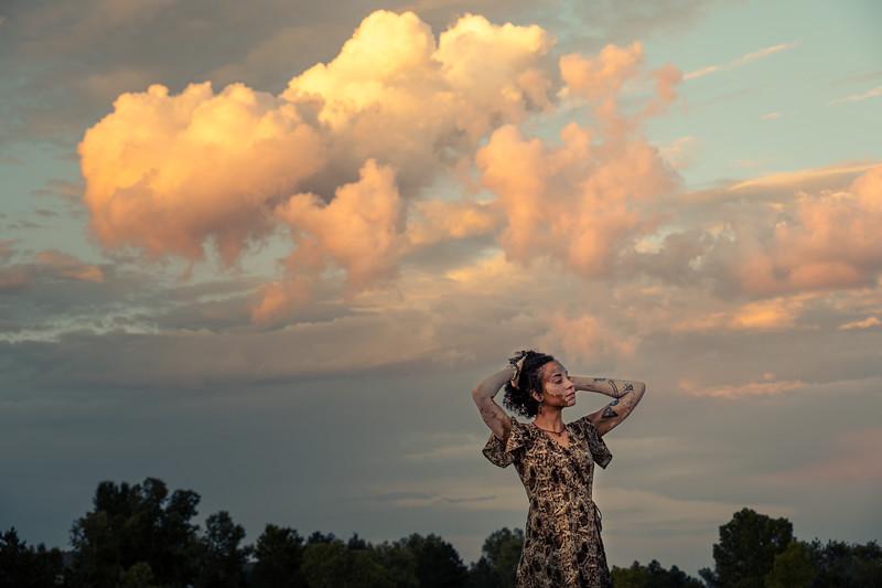 Jasmine - sunset shoot