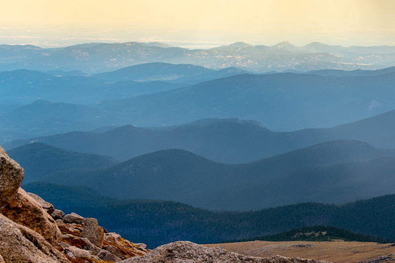Layers of Rocky Mountains