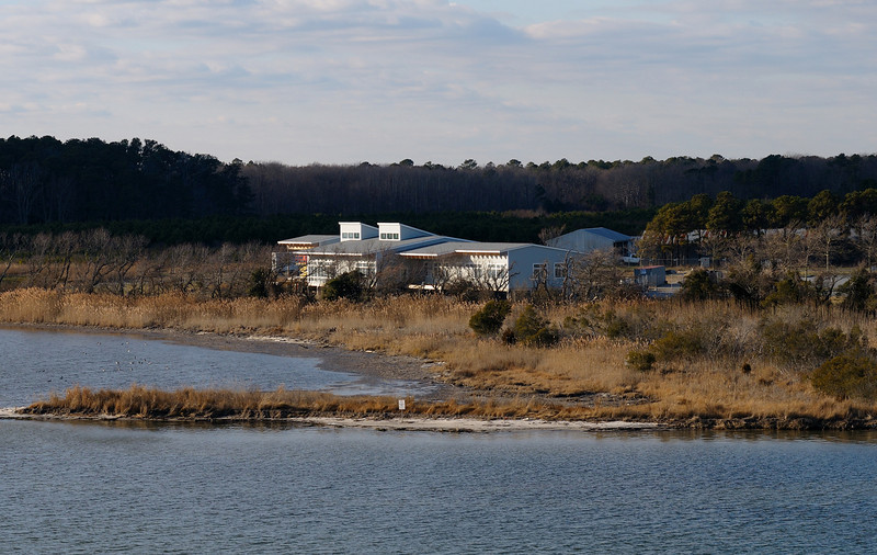 The New Visitor's Center at Assateague Island should be done this spring 2010.