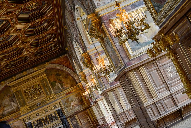 Salle de Bal - Château de Fontainebleau