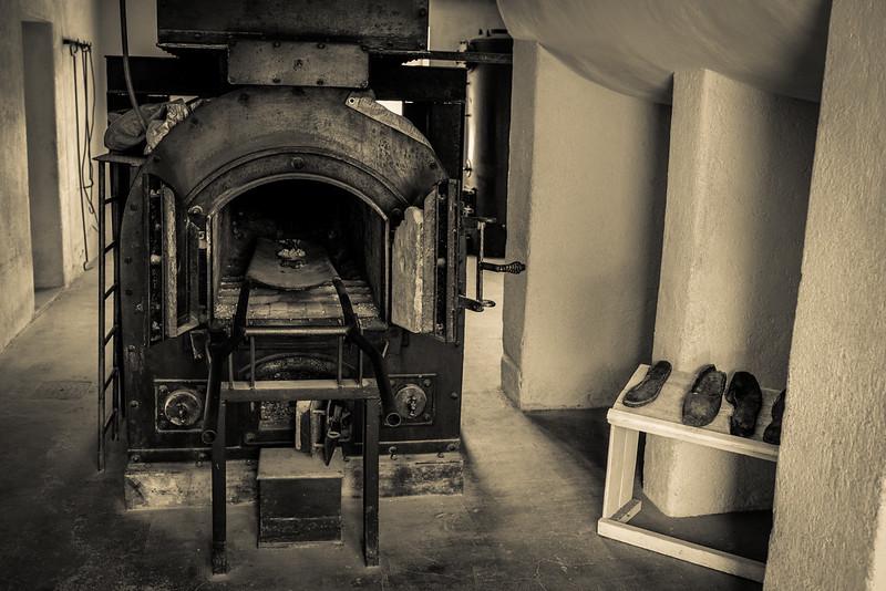 Camp de concentration du Struthof - Four