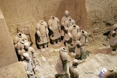 Terracotta Warriors, Terracotta Army Museum, Xian China