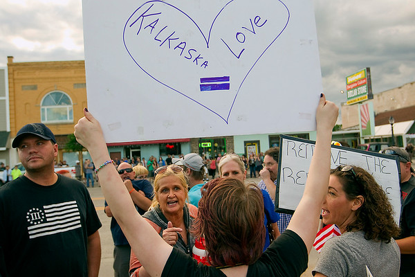 KALKASKA PROTESTS