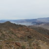Lake Mead and Fortification Hill.  You can also see the Las Vegas Marina.