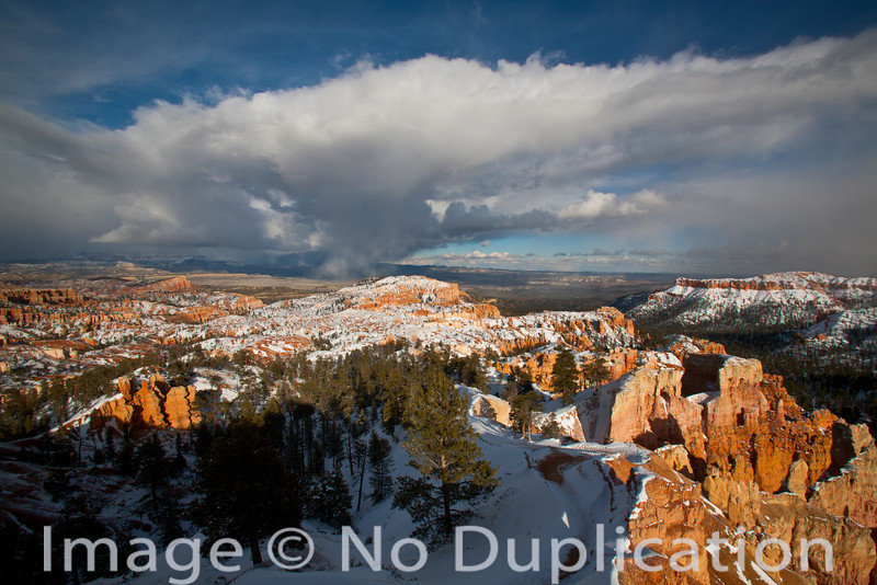 Snowstorm over Bryce, Bryce Canyon National Park