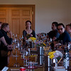 The group during wine tasting at ZD Vineyards