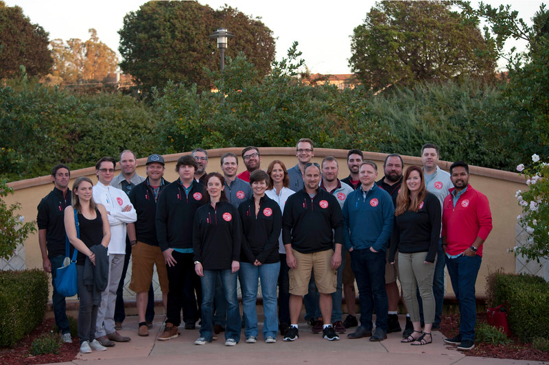Red Van WorkShop - Summit 2016 (Napa, California) - Group Picture