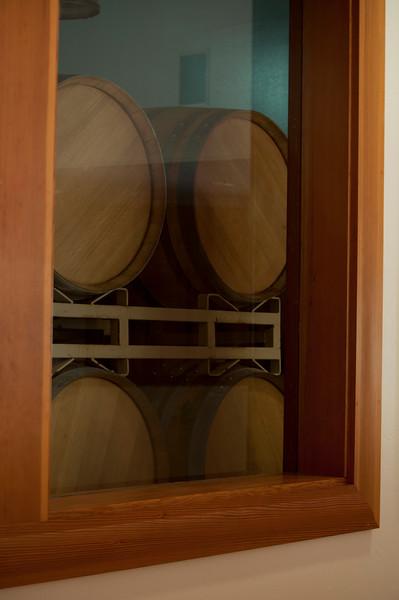 Barrel storage at ZD Vineyards