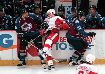 Red Wings/Avalanche