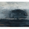 ink, charcoal and pva on paper mounted on wood 80cm x 40cm