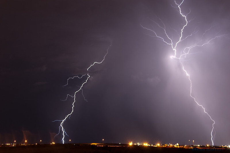 Power generator<br /> <br /> Some multistroke lightning this evening.<br /> <br /> Taken 2012.07.10, Mesa AZ, USA