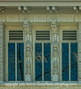 Reflection and Architectural Detail in Building in Golden, CO