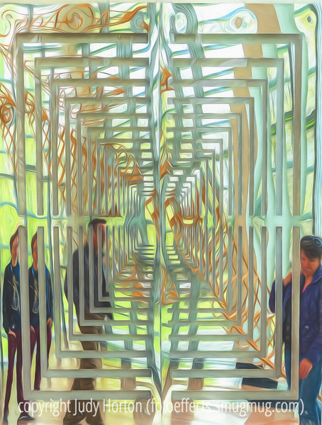 Mirrored Art by Colin Parson and Charles Parson