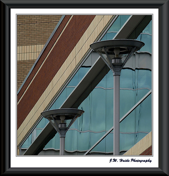 Window Reflections - Civic Center - Hillsboro, Oregon